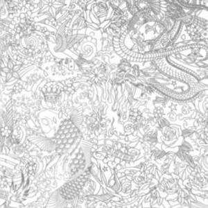 WH0 00013303 HORIMONO Argent Scalamandre Wallpaper