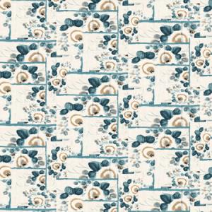 WH0 00033317 ANASTASIA Bleu Scalamandre Wallpaper