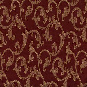 WINETTE Wine Norbar Fabric