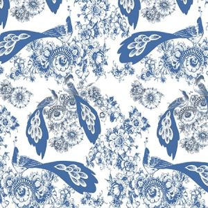 WNM 0001BLOM BLOEMDECOR White Scalamandre Wallpaper
