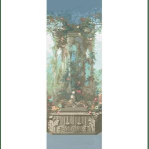 WNM 0001JARP JARDIN DEFOSSE PERGOLA Chantilly Scalamandre Wallpaper