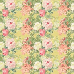 WNM 0002FLEU LES FLEURS Lemon Scalamandre Wallpaper