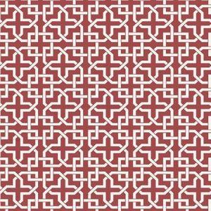 WNM 0006INFI INFINITY Brick Red Scalamandre Wallpaper