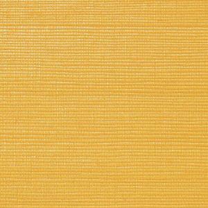 WNM 0042META METALLICA GRASSCLOTH Pumpkin Scalamandre Wallpaper
