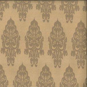 WONDROUS Gold Norbar Fabric
