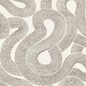 WSB 0001 0805 ZEN Ebony On Ivory Sandberg Wallpaper