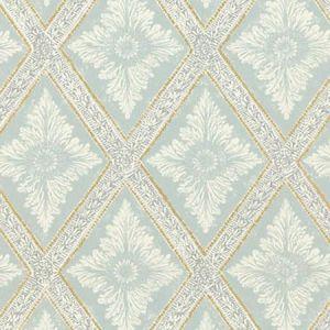 WSB 0027 0493 LUDVIG Turquoise Sandberg Wallpaper