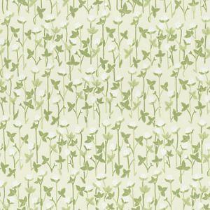 WSB 00280420 KLOVERANG Green Sandberg Wallpaper