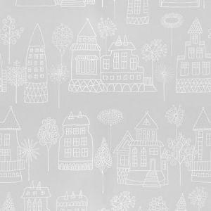 WSB 00310522 KASPAR Grey Sandberg Wallpaper