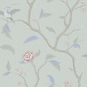 WSB 00410401 MARIANNE Grey Brown Sandberg Wallpaper