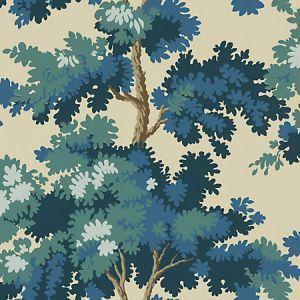 WSB 00660444 RAPHAEL Dark Blue Sandberg Wallpaper