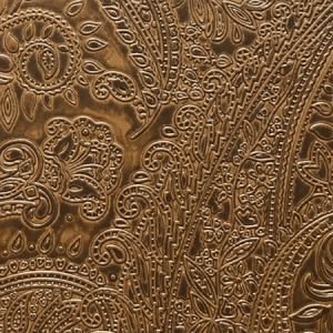 WSM PA10 PAISLEY Chocolate Scalamandre Wallpaper