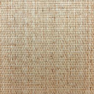 WTO SG3701 MOROCCAN WEAVE Caramel Scalamandre Wallpaper