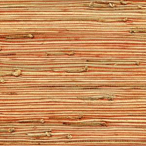 WTW GT3917 ORGANIC RUSHCLOTH Tango Scalamandre Wallpaper