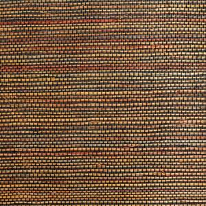 WTW GT3962 ORGANIC SISAL MULTI Sunset Scalamandre Wallpaper