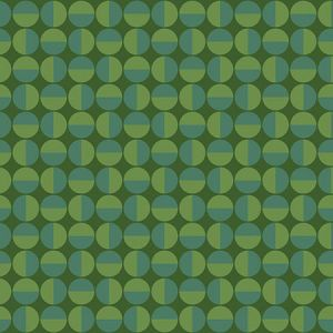 WV1777 Vertigo Geometric Green Brewster Wallpaper