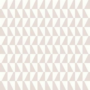 WV1780 Trapez Geometric Blush Brewster Wallpaper