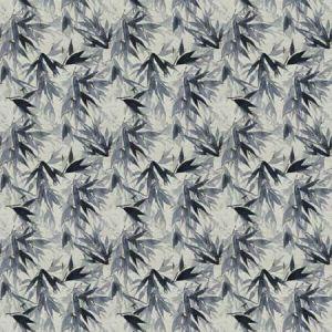 YABU Indigo Vervain Fabric