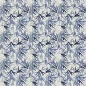 YABU Periwinkle Vervain Fabric