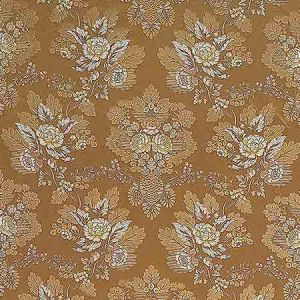 ZA 1770CARL CARLOS LAMPAS Toffee Old World Weavers Fabric