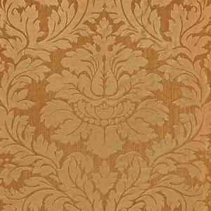 ZA 2162REGI VILLA REGINA DAMASK Spice Old World Weavers Fabric