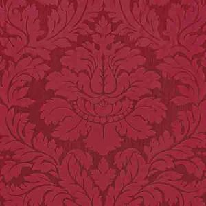 ZA 2166REGI VILLA REGINA DAMASK Scarlet Old World Weavers Fabric