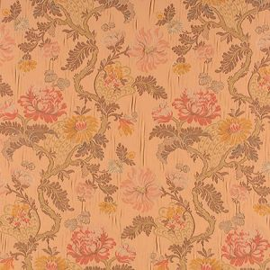 ZA 00536410 PALAZZO PAMPHILY LAMPAS Mocha Old World Weavers Fabric