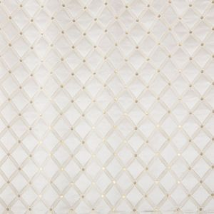 ZA 2124REAL REALE DIAMOND Silk Cream Old World Weavers Fabric
