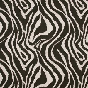ZEBRA Ebony Carole Fabric