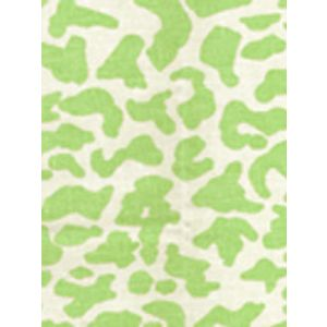 6085-11 ZEZE LEOPARD Limon on Tint Quadrille Fabric