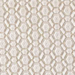ZS 0003MANE MANETTA Ivory Old World Weavers Fabric