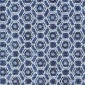 ZS 0008MANE MANETTA Ultramarine Old World Weavers Fabric