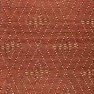 ZS 00218068 TORQUAY Tomato Old World Weavers Fabric