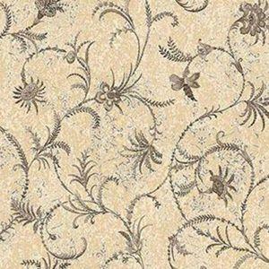 Z1709 Dis Libellula Jacobean Yellow Brewster Wallpaper