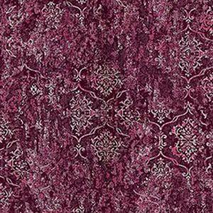 Z1718 Unito Libellula Damask Burgundy Brewster Wallpaper
