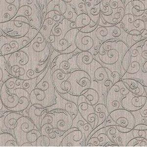 Z1747 Coord Zeno Scroll Silver Brewster Wallpaper