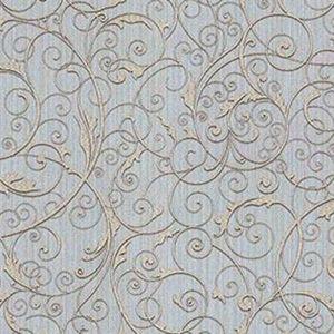 Z1750 Coord Zeno Scroll Periwinkle Brewster Wallpaper