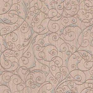 Z1759 Coord Zeno Scroll Blush Brewster Wallpaper