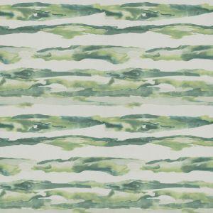 WATERCOLOR WAVE Seaglass Fabricut Fabric