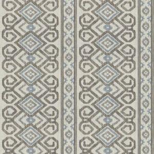 ORAN STRIPE Ironwood Fabricut Fabric
