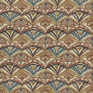 YORU IKAT Coral Clay Fabricut Fabric