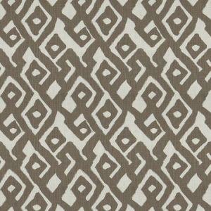 KUBA MAZE Ironwood Fabricut Fabric