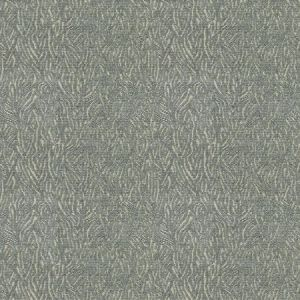 BAKARI LEAVES Loden Frost Fabricut Fabric