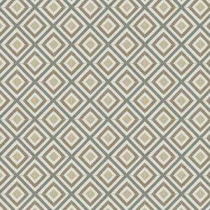 ELLE DIAMOND Dove Fabricut Fabric