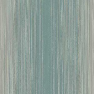 1110102 Stria Metallic Silver and Teal Seabrook Wallpaper