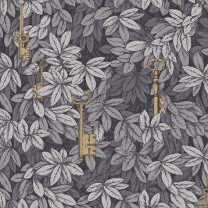 114/26051-CS CHIAVI SEGRETE Sblue Grey Cole & Son Wallpaper