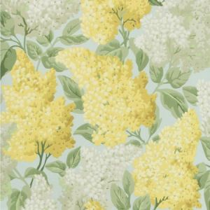 115/1003-CS LILAC Lemon Olive Prime Blue Cole & Son Wallpaper