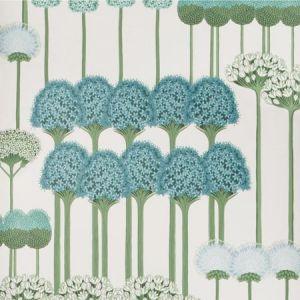 115/12035-CS ALLIUM Teal Jade White Cole & Son Wallpaper