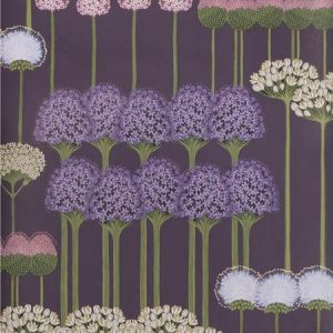 115/12036-CS ALLIUM Mulberry Heather Violet Cole & Son Wallpaper