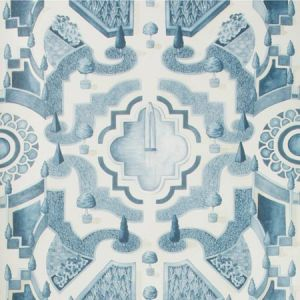 115/2007-CS TOPIARY China Blue Cole & Son Wallpaper